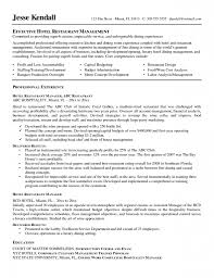 restaurant manager resume example resume cover letter example restaurant manager resume example