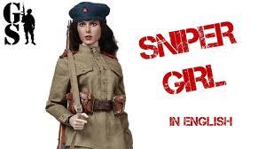 Soviet sniper girl - <b>World War</b> 2 action <b>figure 1/6</b> by Alert Line ...