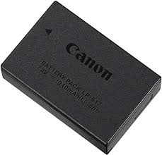 <b>Canon</b> 9967B002 <b>LP</b>-<b>E17</b> Battery Pack for EOS M3 - Black: Amazon ...