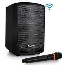 Pyle PSBT65A 600W Bluetooth <b>Karaoke</b> PA Speaker System with ...