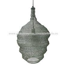 India <b>Iron Wire</b> mesh <b>Pendant</b> Light/<b>Modern Pendant</b> Lamp on ...