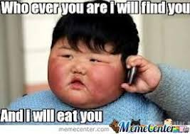 More Fat Kid Hungry Food Memes. Best Collection of Funny More Fat ... via Relatably.com