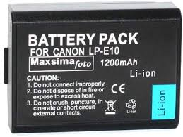 Cameras & Photography New 1200mAh Battery For <b>Canon LP-E10</b> ...