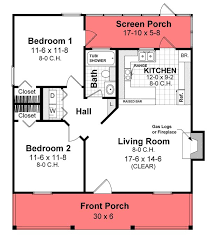 Small House Plans and Floor Plans for Affordable Home Building at    ORDER this house plan  Click on Picture for Complete Info chp    Htd Sq Ft