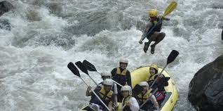 Sungai Citarik tempat Rafting