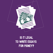 write essay for money