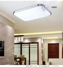 Slim Fixture Square <b>LED</b> Light Living Room Bedroom <b>Ceiling</b> ...