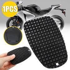 <b>1pc Black</b> Universal <b>Motorcycle</b> Plastic Side Stand Moto Bike ...