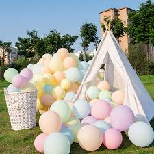 10pcs 12inch 5inch <b>Macaron</b> Confetti <b>Balloons</b> Wedding ...