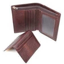 <b>Tanned Leather</b> Wallet RFID Blocking Credit Card Holder Billfolds ...
