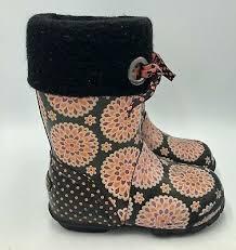 Bogs Miss <b>Becca Dahlia</b> Youth Winter Boots Size 12   eBay