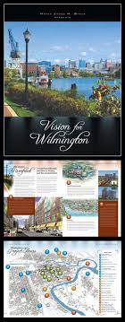 best images about professional work graphic design on city of wilmington or s vision report cover and two sample spreads from the report