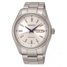 purchase the seiko srp527j1 white dial automatic men s watch from seiko srp527j1 white dial stainless steel automatic men s watch