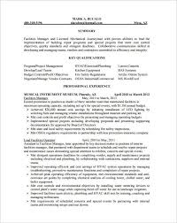 hvac resume skills and abilities pdf template hvac technician sample resume