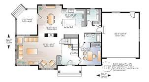 House plan W  V detail from DrummondHousePlans com    st level Two master suites Craftsman house plan  bedrooms  bathrooms  home