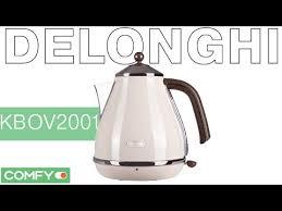 <b>Delonghi</b> KBOV2001 - современный <b>чайник</b> с винтажным ...