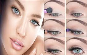 natural eye makeup for brown and blue eyes