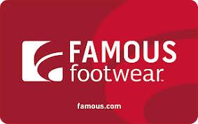 Famous Footwear eGift Card | Kroger Gift Cards