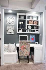 home office small spaces. builtin office nook basement project home decor small spaces e
