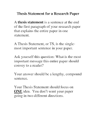 the thesis statement in a research essay should what should be in what should be in a good thesis statement thesisof mice and men thesis statement a good