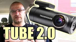 <b>Видеорегистратор TrendVision Tube 2.0</b> - Wi-Fi, 2K, Парковочный ...