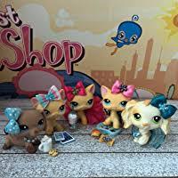 LPS Littlest <b>Pet</b> Shop 6 PC <b>Christmas</b> Food <b>Bow Accessories</b> Lot