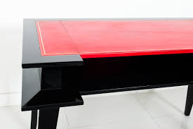 antique desk black and red 1945 black and red furniture