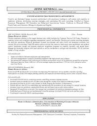 example human resources advisor resume free sample hr analyst resume