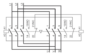 3 phase reversing contactor wiring diagram 3 image 3 phase reversing contactor wiring diagram wiring diagrams on 3 phase reversing contactor wiring diagram