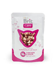 <b>Brit Care Cat Chicken</b> & Duck Pouch – Brit
