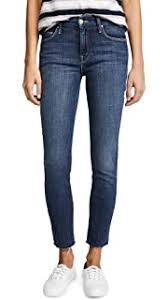 MOTHER Women's Rascal <b>High</b> Waist Ankle <b>Straight</b> Leg Jeans ...