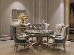 Round Marble Kitchen Table Sets Ekar Furniture Round Marble Table Dining Table Luxury