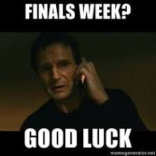 Finals!!! on Pinterest | Finals Week, Final Exams and Final Exam Meme via Relatably.com