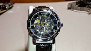 <b>Winner</b> Automatic Mechanical <b>Skeleton Watch</b> Review - YouTube