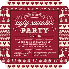 ugly christmas sweater party invitation wording samples amp ideas ugly christmas sweater party invitation wording
