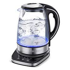 Queen Sense Upgraded Glass Electric Water Kettle ... - Amazon.com