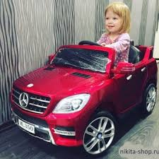 Детский <b>электромобиль MERCEDES</b>-<b>BENZ ML350</b> лицензионная ...