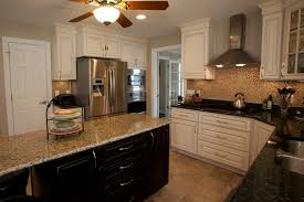 Different Kitchen Cabinets Kitchen With Different Color Island Home Design And Kitchens
