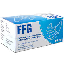FFG <b>Disposable 3</b>-<b>Layer Face</b> Mask (50-Pack)-11000 - The Home ...