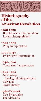 the historiography of the american revolution journal of the historiography is essentially the history of history or more aptly the history of history writing how have historians in different times and places