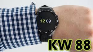 <b>Умные часы kingwear Kw88</b>. ПОЛНЫЙ ОБЗОР - YouTube