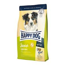 <b>Happy Dog Supreme</b> Young Junior Lamb & Rice Dog Dry Food ...
