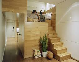 good looking design ideas of nyc space with brown wooden floor and wall panels also stair apartment furniture nyc