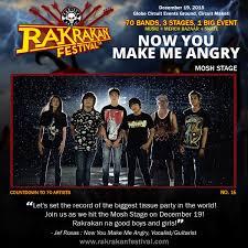 rakrakan presents opm against drugs festival rakrakan festival rakrakan presents opm against drugs festival rakrakan festival band 16 now you make me angry