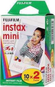 Фотокартридж <b>Fujifilm</b> Instax Mini <b>GLOSSY</b> (<b>10</b>/<b>2PK</b>)
