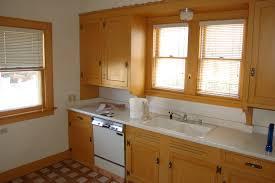 cabinet white painted glazed kitchen