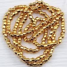 редкая!!! 9/0 3cut 24kt <b>золото покрытые</b> чешский семечко бусины ...