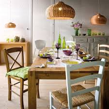 a natural and casual dining area casual dining room lighting