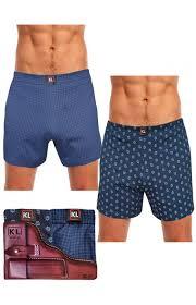 <b>Комплект трусов</b> мужских ККТР1424 синий и темно-синий ...