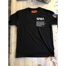 <b>Футболка</b> NASA - Heron Preston белого и черного цвета | Реплика